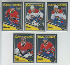 19/20 OPC Platinum Montreal Canadiens Retro Set w/RCs - Price Drouin Suzuki RC +