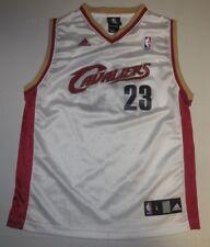 NBA Basketball Cleveland Cavaliers LeBron James #23 Jersey Youth Large Adidas