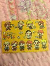 Super Junior Chibi Eunhyuk Birthday Sticker Sheet Official KPOP K-POP