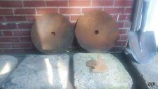 Vintage Disc Plow Blade Industrial Steampunk Antique Farm Implement 15