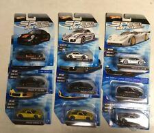 Hot Wheels Speed Machines Porsche Ultimate Lot of 9 Different!