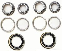 Front Wheel Bearing & Race & Seal Kit For 1972-1982 FORD COURIER (2WD 4WD)