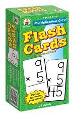 Carson-dellosa Multiplication 0-12 Flash Card Set - Math (cd3930)
