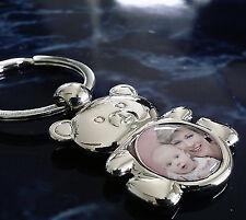 Ihr eigenes Foto auf einem Teddy Schlüsselanhänger als Fotogeschenk Geschenkidee