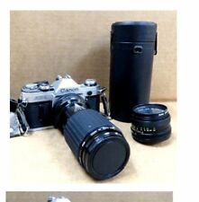 Canon AE-1 35mm Film Camera w/Sigma 70-210mm Zoom Lens No reserve