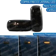 COPPIA FRECCE LATERALI PROGRESSIVE LED AUDI A3 8P CANBUS DINAMICHE NERO FUME'
