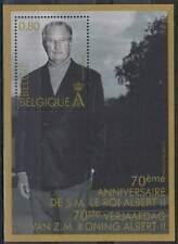 België postfris 2004 MNH block 97 - Koning Albert II
