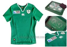 Canterbury Men RWC 2015 Ireland Rugby Players Jersey L Collectors Item Sealed