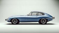 1965 Jaguar XKE Coupe, Refrigerator Magnet, 40 Mil
