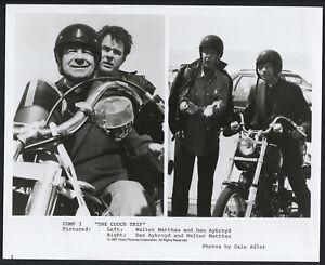 The Couch Trip '87 WALTER MATTHAU DAN AYKROYD PRIEST MOTORCYCLE