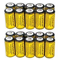 20PCS 16340 CR123A 3.7V Li-Ion Rechargeable Battery for Arlo Security Camera