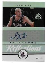 2005-06 Reflections signed Jason Kidd Auto #26/35