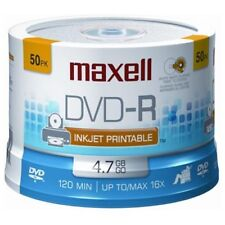 Maxell Dvd-r 50pc 16x Printable (maxell 635129) (638022) (635129/638022)