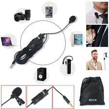 BOYA BY-M1 Clip-on Lavalier Miniphone for iphone Samsung DSLR Camera Camcorder