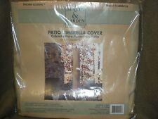 """Hearth and Garden Tri-000416 Patio Umbrella Cover New 64""""x11"""""""