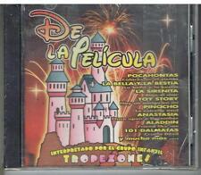 DE LA PELICULA - DISNEY - GRUPO ENFANTIL TROPEZONES - KNIE  - CD NUOVO SIGILLATO