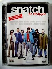 Dvd Snatch - Lo Strappo - Ed. super Jewel box di Guy Ritchie Usato fuori cat.