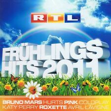 RTL Frühlingshits 2011 - 2 CD Neu Bruno Mars ZAZ Beyonce Hurts Beatsteaks Seeed
