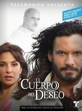 EL CUERPO DEL DESEO -  TELENOVELA -5  DVDS- BRAND NEW - LATIN