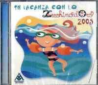 AA.VV. IN VACANZA CON LO ZECCHINO D'ORO 2005 CD NEW SEALED