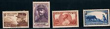 France SC B97-B100 Gen.J.Galeni-Marshall Foch-Gen.Joffre&WomanPlowing MNH 1940