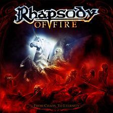 RHAPSODY OF FIRE from chaos to eternity CD LTD DIJIPACK + 1 bonus track