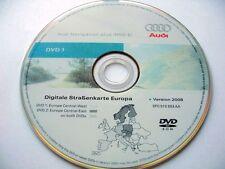 Audi A3 A4 A6 Tt R8 Rns-E Navigation DVD 2008/2009 UK Italie France Germany