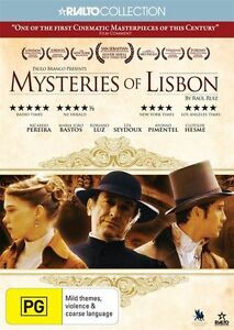 Mysteries Of Lisbon (DVD, 2012, 2-Disc Set)*R4*Terrific Condition*Foreign