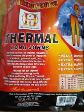 Mens white  thermal long johns tog 0.45 heat insulators size Medium ref mx1