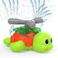 Water Sprinklers For Kids & Toddler Outdoor Play Turtle Sprinkler Of