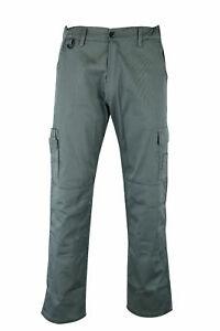 Mens Working Elastic Pant Trouser Cargo Combat Outdoor Work wear Warehouse