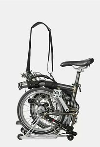 Portable Bicycle Carrier For Brompton Folding Bike Frame Carry Shoulder Strap