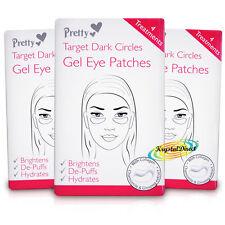 3x Pretty Gel Eye Mask Pad Patches Brighten Hydrates Dark Circles With Collagen