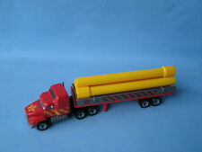 Matchbox convoy mack pipe truck construction 170mm long ub