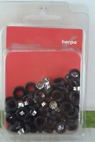50 Herpa Wheels ( Tires + Rims )  for Tractor Trucks and Trailers  HO Scale