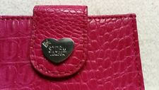 STORM LONDON PINK LEATHER PURSE WALLET NEW
