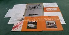 FIAT 131 MIRAFIORI 1977 UK 10 PART MAIL OUT BROCHURE PACK SALOON & ESTATE