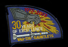 USN VAQ-136 Gauntlets 1973-2003 Patch S-8