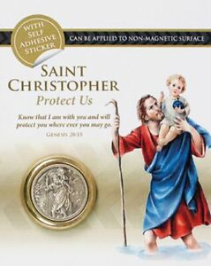 St Christopher Car Magnet Fridge Magnet Saint Christopher Travel Protection