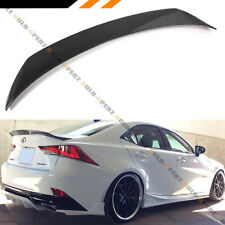 FOR 2014-2020 LEXUS IS200t IS250 IS350 AR STYLE CARBON FIBER TRUNK SPOILER WING