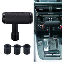 1x Car Automatic Manual Gear Shifter Shift Knob Lever T Handle Black Gearstick