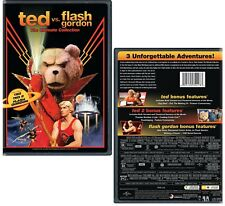 TED vs. FLASH GORDON: THE ULTIMATE COLLECTION (Ted, Ted 2 + Flash Gordon) R1 DVD