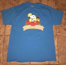 SNOOPY - RUN FOR THE ROSES KENTUCKY SHIRT - SIZE LARGE