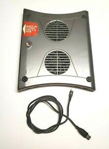 Targus Laptop Chill Mat Dual Fans Laptops Model AWE01US2 4 USB Ports Cooling Fan