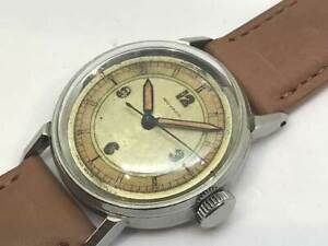 MOVADO 3Hands Sector Dial Cal. 150MN Manual Winding Vintage Watch 1930's