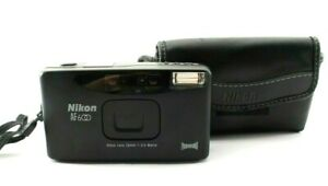 Excellent+++++ Nikon AF600 Panorama 35mm Point & Shoot Film Camera From Japan