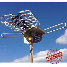 Best Long Range Outdoor Hdtv Antenna Digital TV 150 M Amplified Remote Control