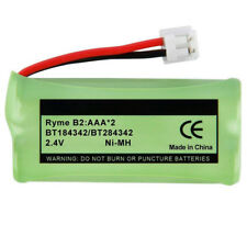 Replacement For At&T Batt-6010 Cordless Phone Battery (750mAh, 2.4V, NiMh)