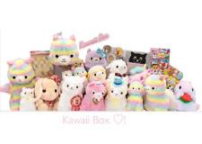 Nuevo Super Kawaii caja venta 10 artículos sorpresa Adorable Peluche Alpaca Llama Arco Iris Etc