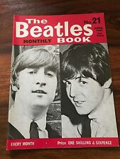 RARE 1965 THE BEATLES MONTHLY BOOK #21